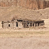 Luckenbill Cabin.  This cabin is located on a site along  the Touchet River.  Lewis and Clark came by this exact site in 1806 on their return journey.  It could have been built in the late 1800's.  Amazingly the logs used would have to have been hauled 75 miles from the Blue Mountains, a monumental job.