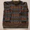 Henry VIII by Alice Starmore, Tudor Roses knit in Scottish Campion