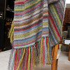 Earth Stripe Wrap by Kaffe Fassett in 10 shades of Kidsilk Haze