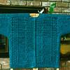 Am Kamin (Japanese Cable Cardigan), Hand Painted, 60% Merino, 40% Silk.