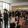 Friday night September 10, 2010, I attended the Young Friends of the Art Museum's Rodin Garden Party: The event, traditionally held at the Rodin Museum, has been moved this year to the skylit atrium at the Ruth and Raymond G. Perelman Building while the Rodin undergoes exterior renovation.  Funds raised through the event support the Young Friends' mission of art acquisitions, conservation and preservation of works in the collections, as well as education and outreach programming.  More than 400 guests attended the sold-out soiree.