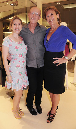 """When I heard the Bra Whisperer (Susan Nethero) was going to be at Fashion Night Out I headed over there to meet her at her boutique {intimacy}   <a href=""""http://www.myintimacy.com/"""">http://www.myintimacy.com/</a>) which just opened at the King of Prussia Plaza. Dubbed """"The Bra Whisperer"""" by Carson Kressley when they did the show """"How to Look Good Naked."""" Susan believes most women are wearing the wrong size bra, and with the correct size it would make a world of difference.  With her is her husband David Nethero and KOP Intimacy store manager Brenda Gage.  Susan is in the store all week and you can see her by appointment, but tells me that all her employees have all been through Bra Boot Camp and know how to fit a women."""