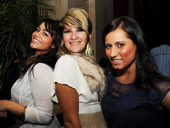 Stylish bunch: Janette Repsh, Racquel Fetzer and Jamie Lynn Galasso are going to miss their friend.
