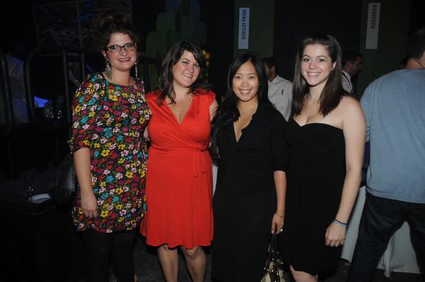 Karen Riley, Jen Oliver (Philebrity), Amy Branzuela and Danielle DelRe both of Starr Restaurants.