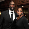 Another perfect couple: Ike and Renee Reese.  While the Philadelphia Eagles players tend to the game, Renee has been organizing the players wives into doing various charity outings like the NFL Basketball Wives game against the Washington Redskins wives a few weeks ago that benefited the Susan G Komen organization.