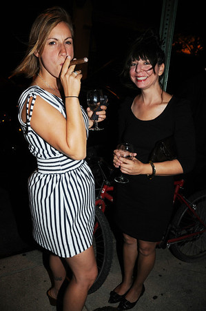Katherine Veri loves a good cigar, and Angeline Simononis.