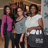 Sisters Belinda and Jamillah Howard were up for a little retail therapy with their friend Nichelle Morgan.