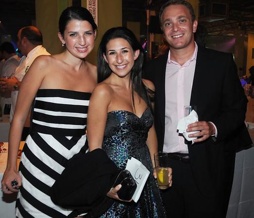 Ilana Waber, with sister Jessica Waber and Alex Felman.