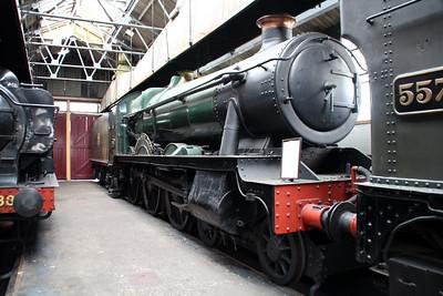 4-6-0 6998 'Burton Agnes Hall'.