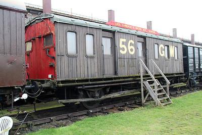 CCT Ex Breakdown Train Riding Wagon GW56.