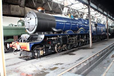 4-6-0 6023 'King Edward II'.