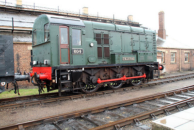 Class 08 (08604) 604 'Phantom'.