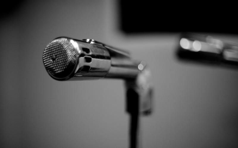 Speak into the mic of the apocalypse