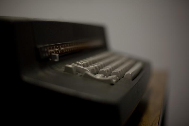 Cool old typewriter