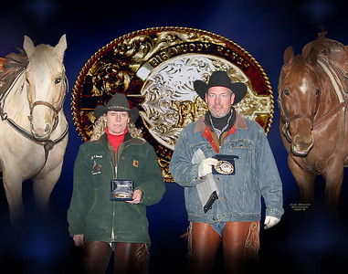 Montage of your winning team with the winning buckle !