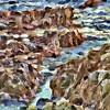 Rocks, Ocean, Cambria Ca