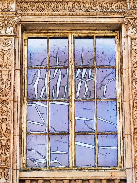 Window,Art Museum Balboa Park San Diego