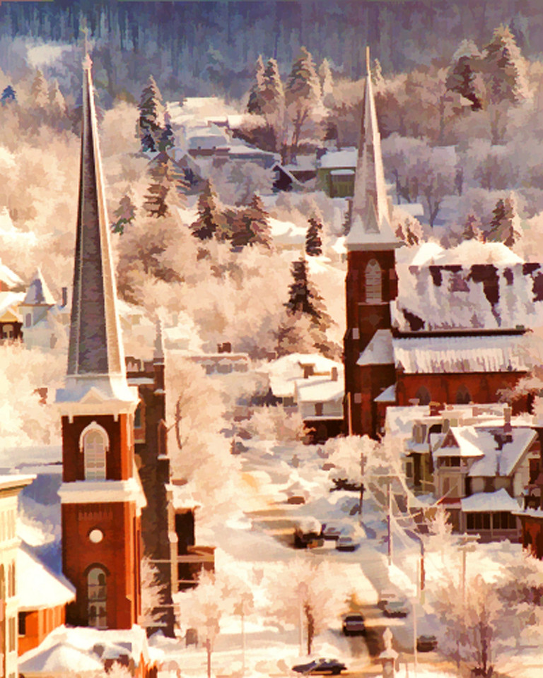 North Adams Mass. in Winter