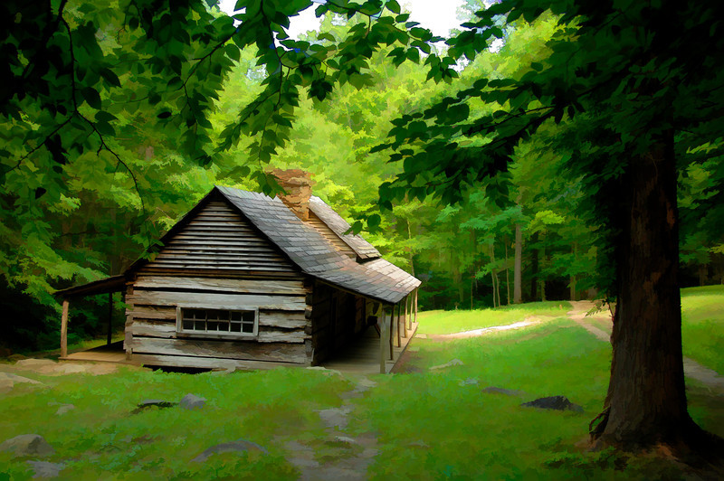 Cabin, Great Smokey National Park
