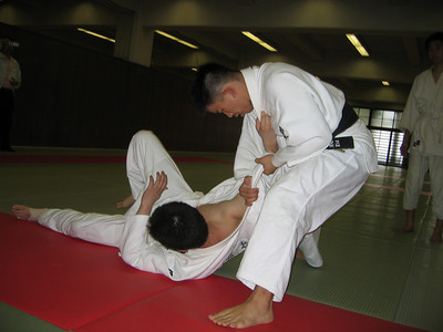 Judo Practice - digital photo (Canon S500) - Summer 2006
