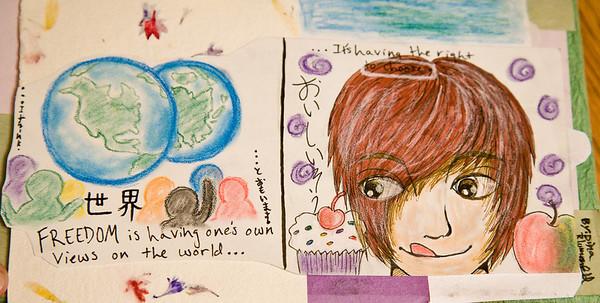 """Dina's """"Free"""" Page 9"""