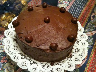 Schwarzwalder Kirschtorte, meaning Black Forest Cherry Cake.