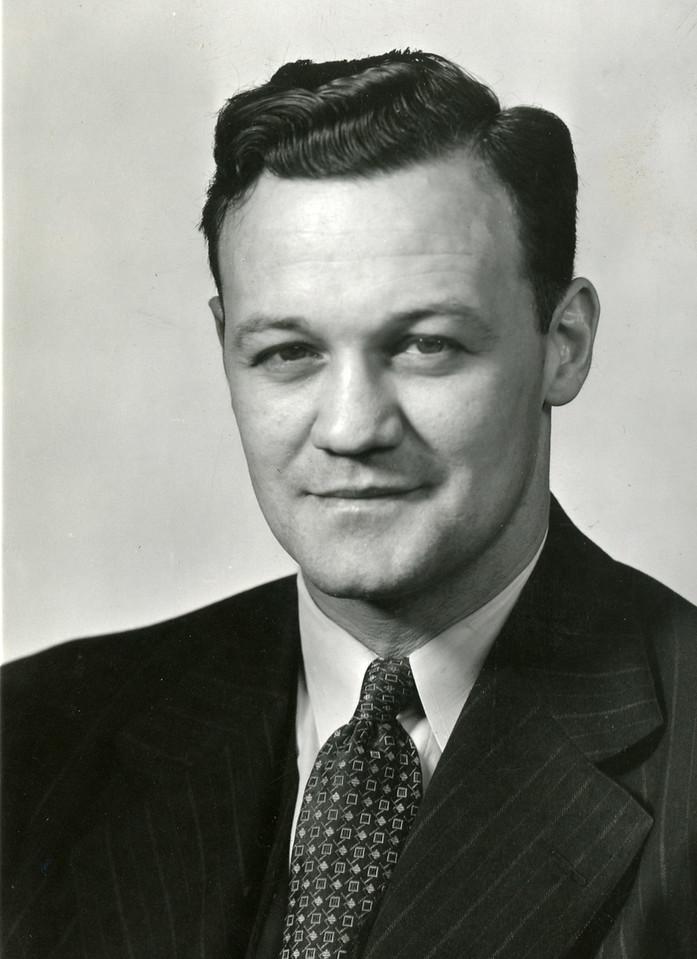 Richard C. Larkins Official Photograph, 1951