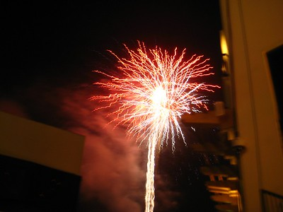 Fire Works 4th of July Hard Rock Casino Fort Lauderdale