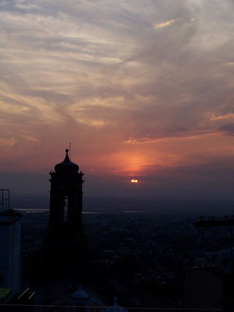 Sunset over San Miguel de Allende