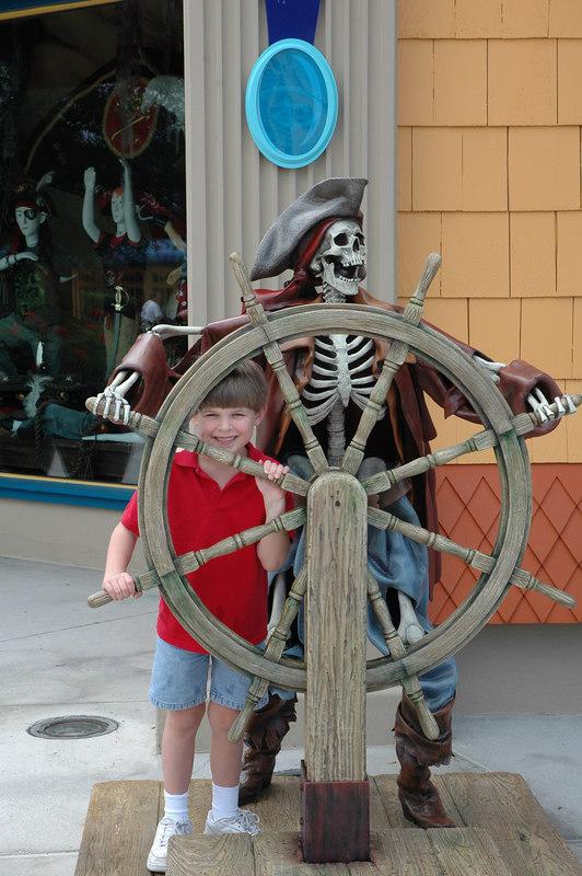 Zachary at Downtown Disney