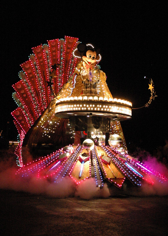 The SpectroMagic Parade at the Magic Kingdom
