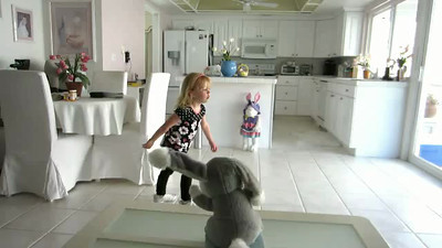 Ashley is still dancing....