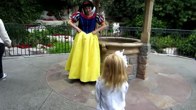 Video of Ashley with Snow White