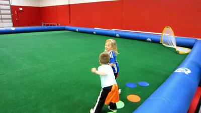 Cute Video of the Easter Bunny at Soccer on 4-14-13