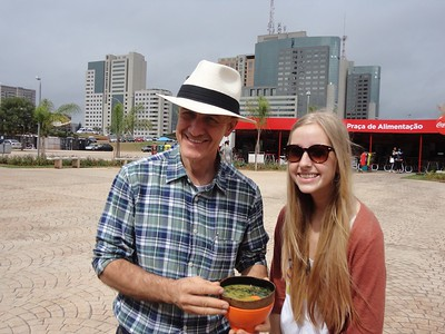 Emily and host father