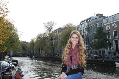 Lauren in the Netherlands