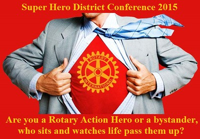 Be a Rotary Action Hero!