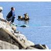 Samedi 8 mars 2014, bord du lac Léman à Vevey: il fait 15 degrés!