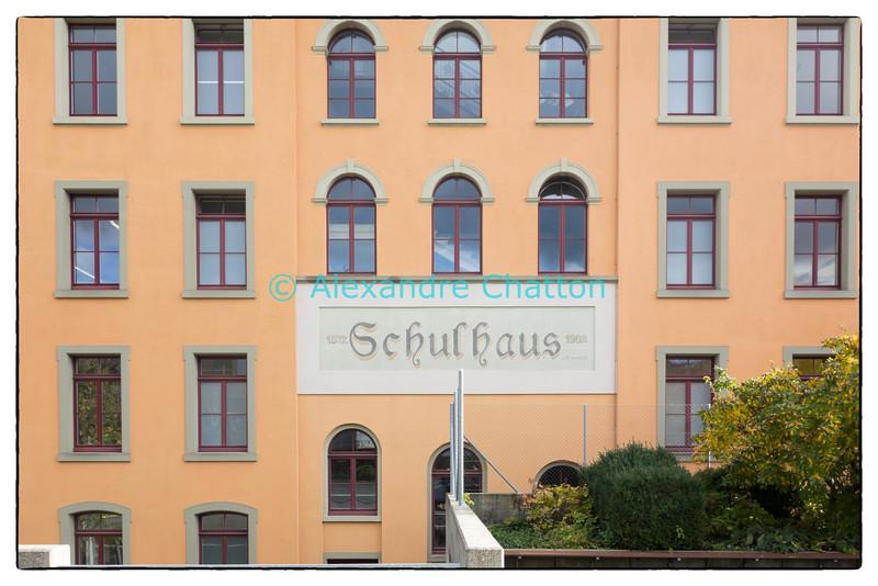 Automne 2013. Ma première école. Biel - Bienne