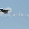F-18 Hornet Breaking the sound barrier