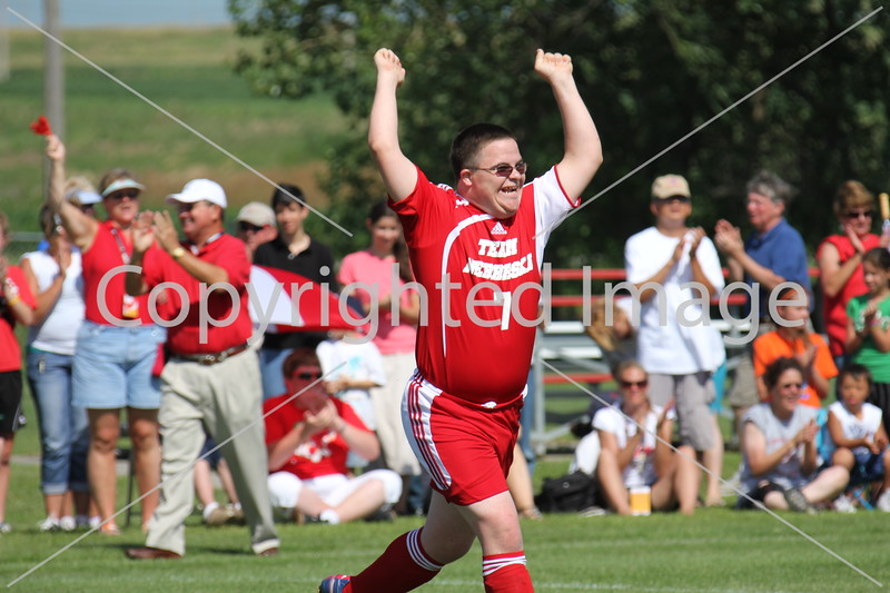 National Special Olympian celebrates victory