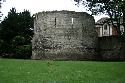 Roman tower, York