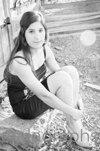 Ana Sitting Pensive BW-7250