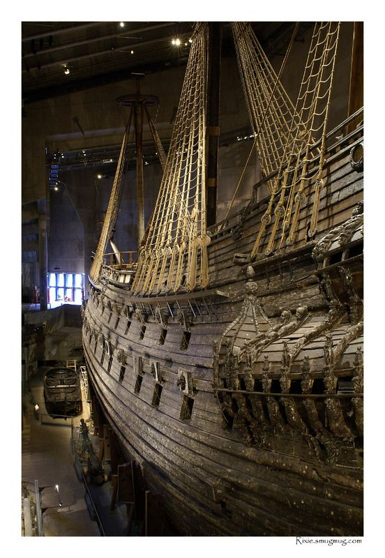 Vasa Ship, the Titanic of its day