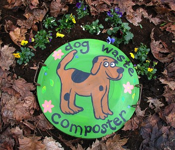 The waste decomposes and enters the subsoil. Do NOT use it on garden beds.