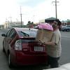 Mr. Xefos hauls stuff into Dogpatch Studios