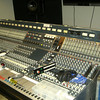 The Neve mixing desk