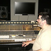 Mr. Xefos at the main console at Dogpatch Studios