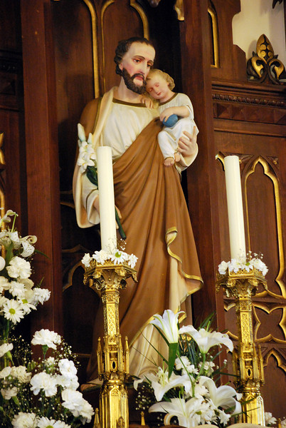 In 1955 Pope Pius XI extablished the feast of St. Joseph the Worker on May 1,