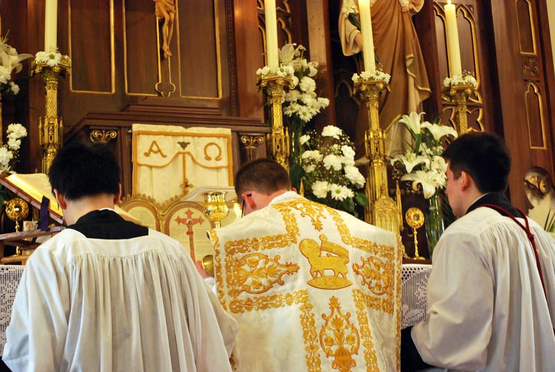 regard not my sins, but the faith of Thy Church;